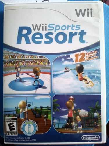 Wii Sports Resort Para Nintendo Wii U - Completo Original