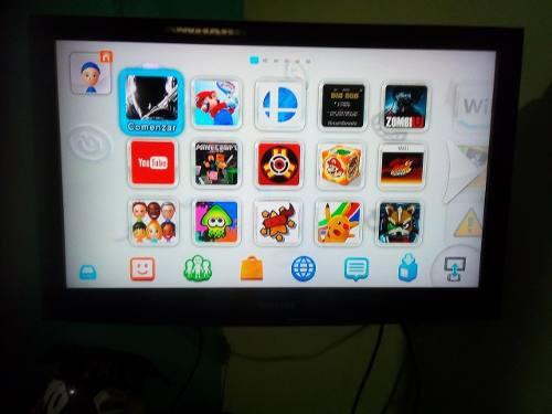 Wii U Flasheada Con Accesorios Y Juegos