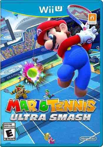 Wii U Mario Tennis: Ultra Smash Juego Fisico, No Digital