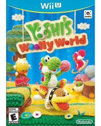 Yoshi's Wooly World Nintendo Wii U Nuevo Sellado Físico