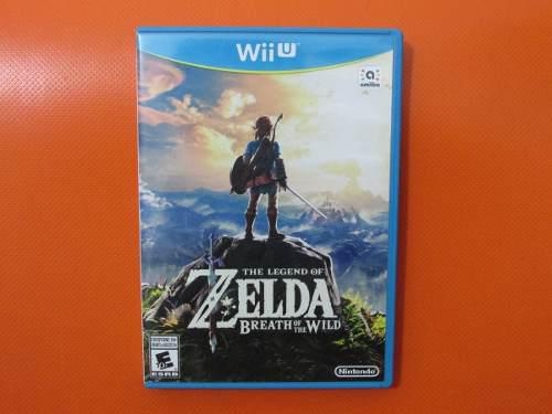 Zelda Breath Of The Wild Original Para Nintendo Wii U