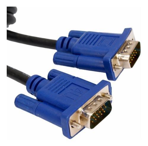 Cable Vga A Vga 3 Metros Pc Monitor Proyector Sintonizadora
