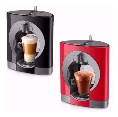 Cafetera Cápsulas Moulinex Oblo Nescafe Dolce Gusto Rojo