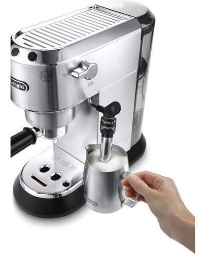 Cafetera Express Delonghi Dedica Ec685m Acero Cappuccin Cuot