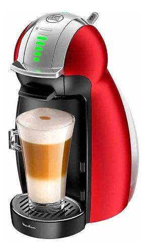 Cafetera Moulinex Dolce Gusto Genio 2 Red Pv160558
