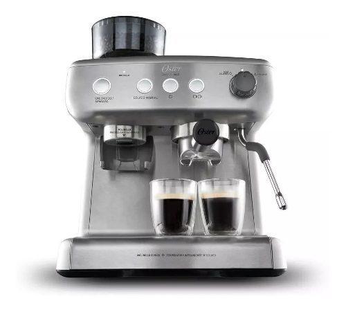 Cafetera Oster Expresso Con Molinillo Barista Max 7300