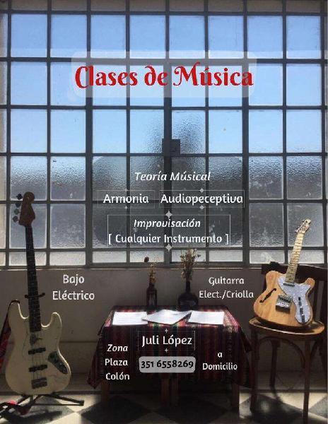 Clases de Guitarra Electrica Y Criolla