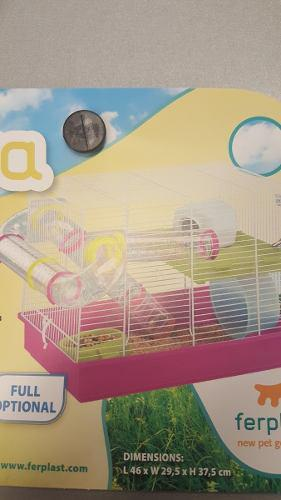 Hamstera Importada Laberinto...2 Pisos