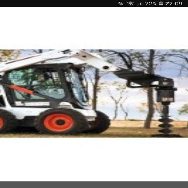Hoyadora Vendo para Minicargadora Bobcat