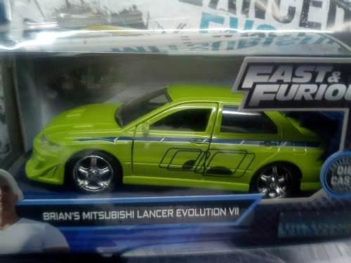 Rapido Y Furioso N 45 Brian's Mitsubishi Lancer Evolution Vi