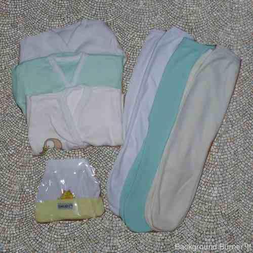 Medio Osito Y Batita Bebe Recien Nacido Unisex X 4