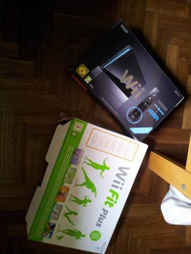 Vendo O Permuto Nintendo Wii + Plataforma Wii Fit