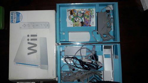 Vendo Wii Con Un Año De Uso En Excelente Estado