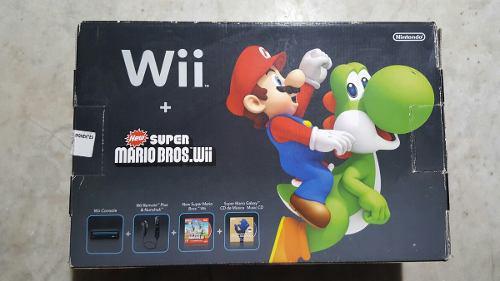 Wii New Super Mario Bros + Wii Fit Plus