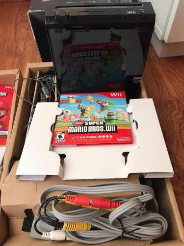 Wii Super Mario Bros. Toda Completa En Caja.