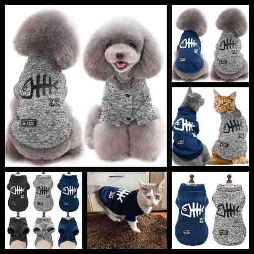 Abrigos*ropa*saquitos Con Onda Para Perros Y Gatos L,xl,xxl