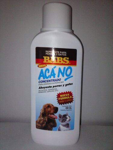 Aca No X 12 U Repelente Perros Y Gatos X 450ml Concentrado