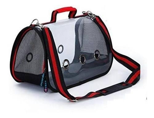 Bolso Transporte Transparente N3 Perros O Gato Importador