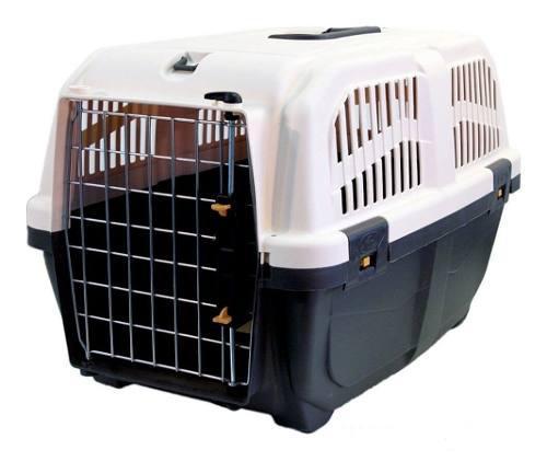 Caja De Transporte Perros Y Gatos Skudo Nº 2 Iata 55x 36x