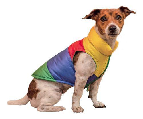 Chaleco Inflado Ropa Para Perros Abrigado Talles Grandes *