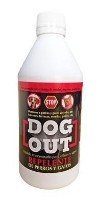 Dog Out Repelente De Perros Y Gatos Liquido 500cc