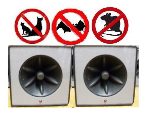 Espanta Perros Ultrasonico Exteriores Ls937 Emporio Espantap