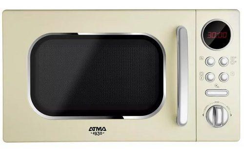 Microondas Digital Atma Md1820vn Vintage 20lts 700w Tio Musa