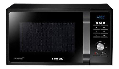 Microondas Samsung Mg23 Black Ceramica 23 Litros Grill Reti