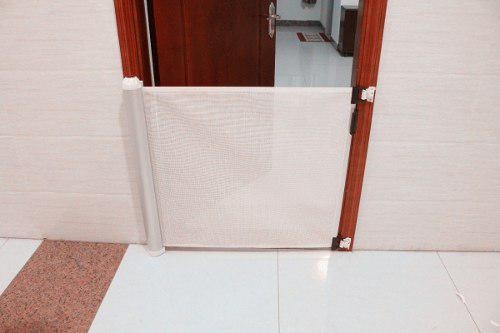 Puerta De Seguridad Retráctil Bebes Niños, Mascotas Roller