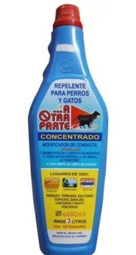 Repelente Perros Gatos A Otra Parte Concentrado 600ml Rinde3