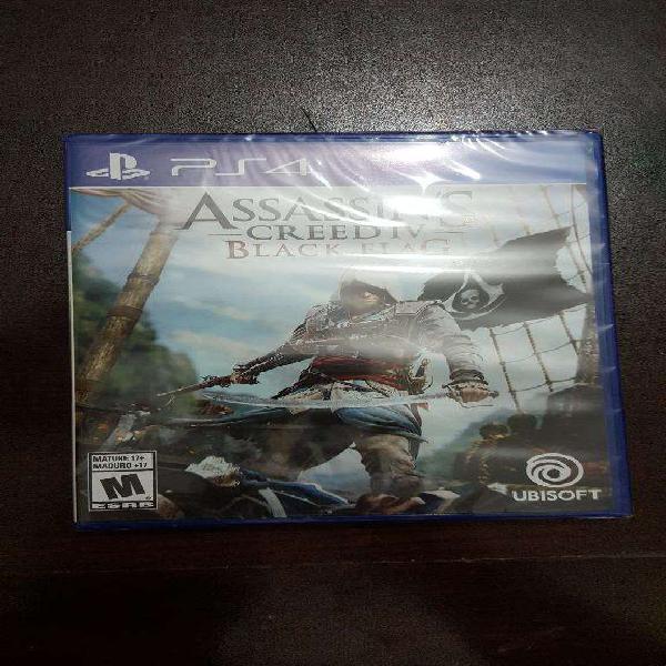 Vendo Juego Assassins Creed 4 Ps4 Nuevo
