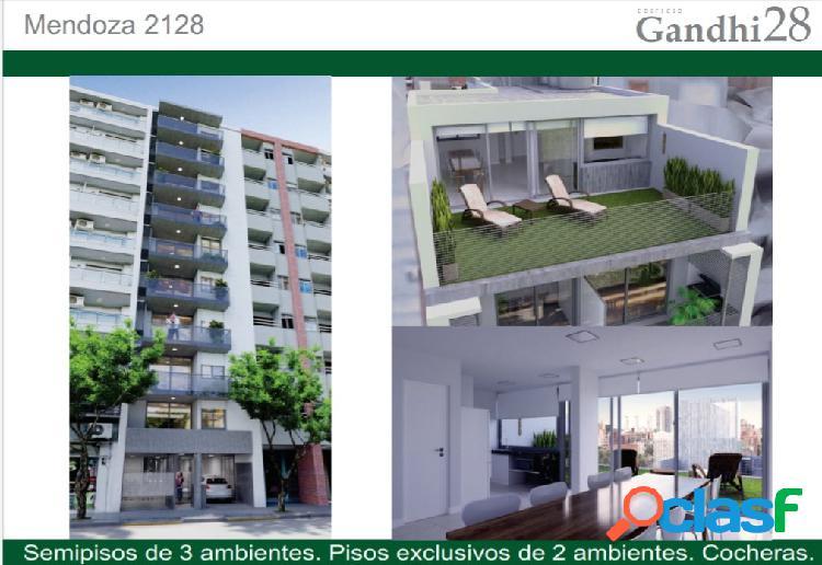 Departamentos de 1 y 2 dormitorios en zona centro a metros