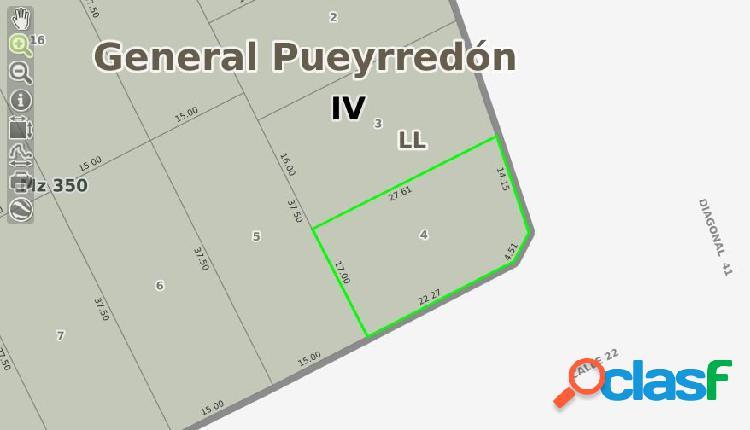 LOTE EN VENTA EN MARQUESADO 440M2