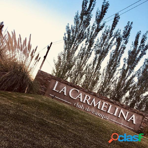 Vendemos Lote en La Carmelina, San Martín, Mza