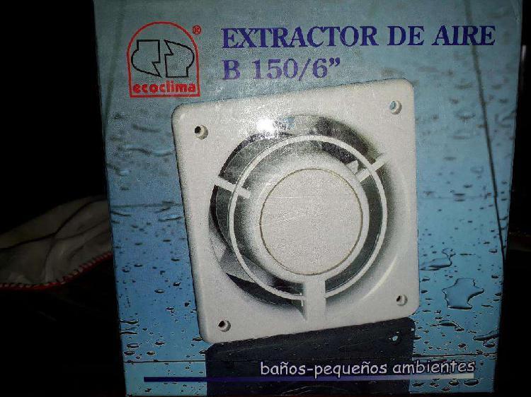 Extrator de Aire para Baño