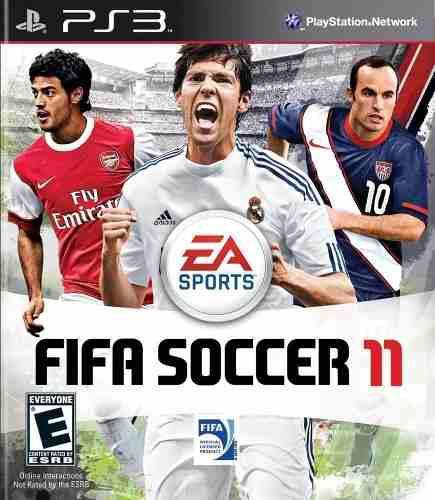 Juego Fifa 11 Consola Play Station 3 Ps3 Español En Caja