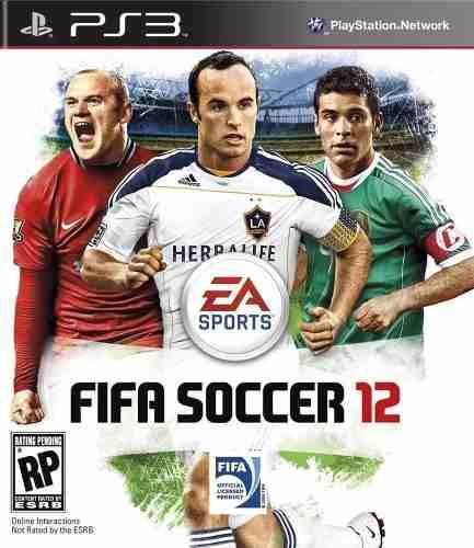 Juego Fifa 12 Consola Play Station 3 Ps3 Español En Caja