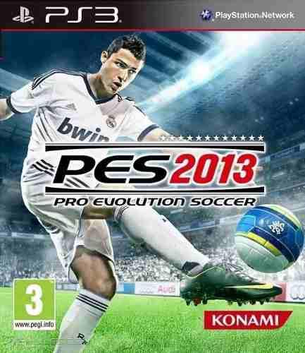 Juego Pes 2013 Consola Play Station Ps3 3 En Caja