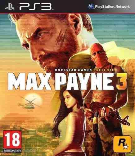 Juego Ps3 Max Payne 3 Consola Play Station 3 Español En
