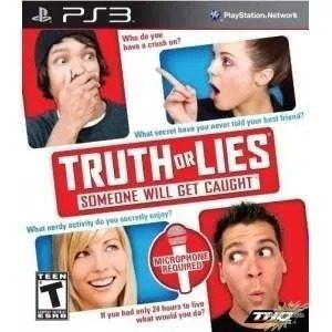 Juego Ps3 Truth Or Lies Consola Play Station 3 En Caja