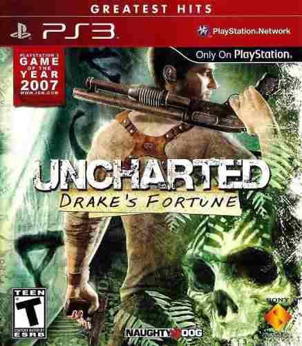 Juego Ps3 Uncharted 1 Consola Play Station 3 Español En