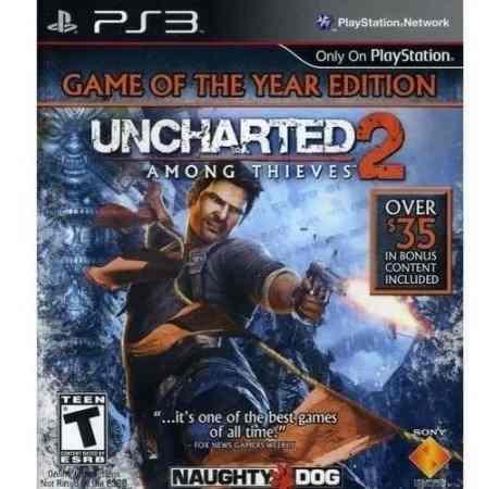 Juego Ps3 Uncharted 2 Consola Play Station 3 Español En