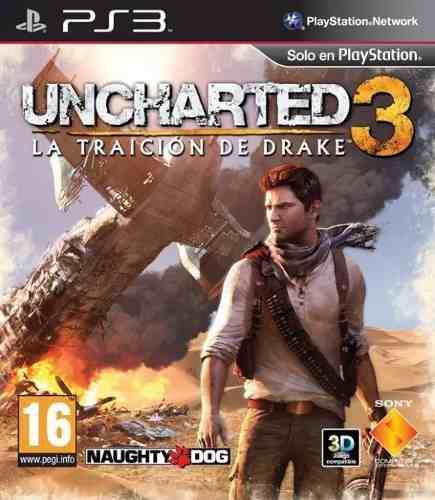 Juego Ps3 Uncharted 3 Consola Play Station 3 Español En