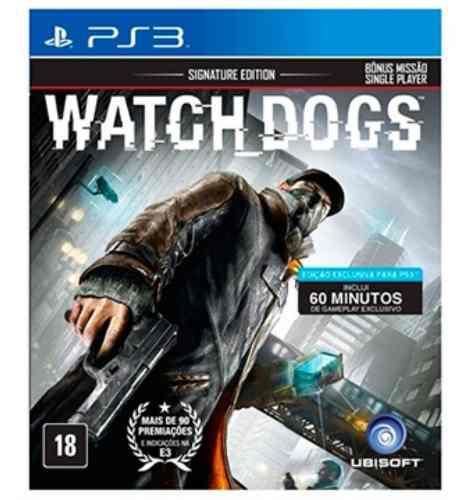 Juego Watch Dogs Consola Play Station 3 Español En Caja Ps3