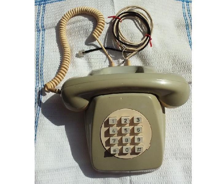 Teléfono Antiguo Entel. Retro con botones. Vintage