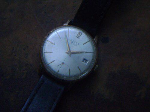 Antiguo Reloj Aetos A Cuerda Funcionando Perfectamente