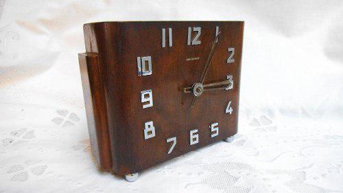 Antiguo Reloj Casa Escasany De Mesa Art Decó A Revisar