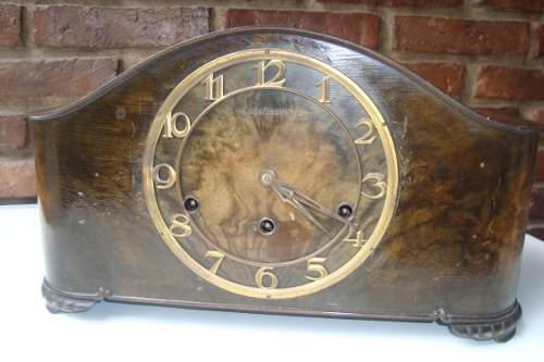 Antiguo Reloj De Mesa Carrillòn Casa Escasany, Miralo