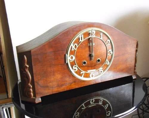 Antiguo Reloj El Trust Llave Y Péndulo 3 Martillos