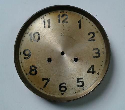 Antuguo Cuadrante Para Reloj De Pared A Pendulo